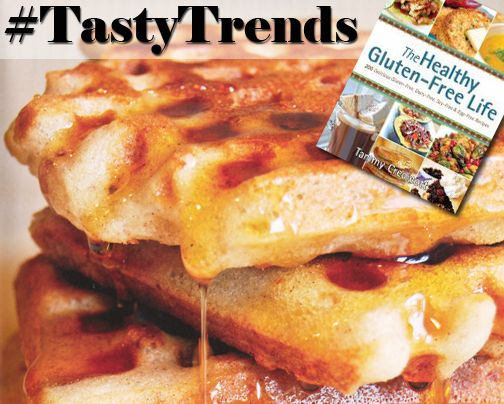#TastyTrends: Crispy Golden Waffles that are Gluten, Dairy, Soy and Egg Free. Recipe on Page 86. http://ow.ly/R9Yh4
