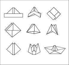 Risultati immagini per origami barchette di carta