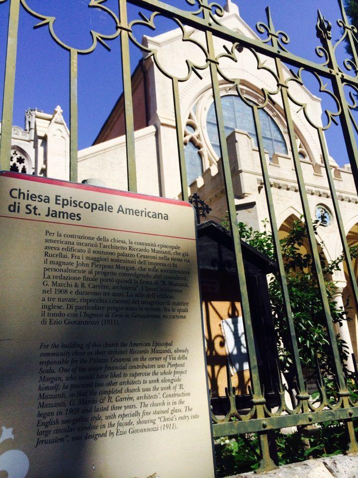 St. James' Episcopal Church in Firenze, Toscana