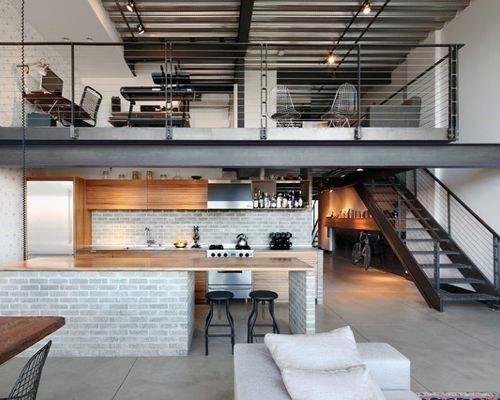 home interior loft design ideas a framecabin rustic homes rh pinterest com architect loft design architect loft design