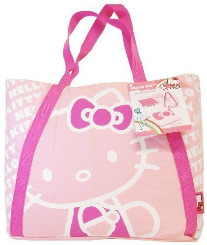 Sanrio Hello Kitty Overnight Sleepover Slumber Sleeping Bag With A Tote