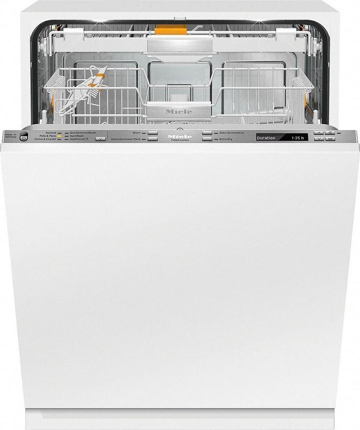 Miele G6880SCVIK2O Fully Integrated Dishwasher with Knock2open, Miele@Mobile, EcoTech Heat Storage, 3D+ Cutlery Tray, QuickIntenseWash, AutoSensor, 12 Wash Cycles, Water Softener, Silence Rating of 42 dBA, 16 Place Settings, Panel Ready, ADA Compliant and ENERGY STAR®