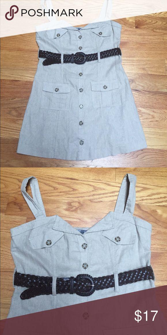 Poetry linen dress New dress,30% cotton,70% linen Poetry Dresses Mini