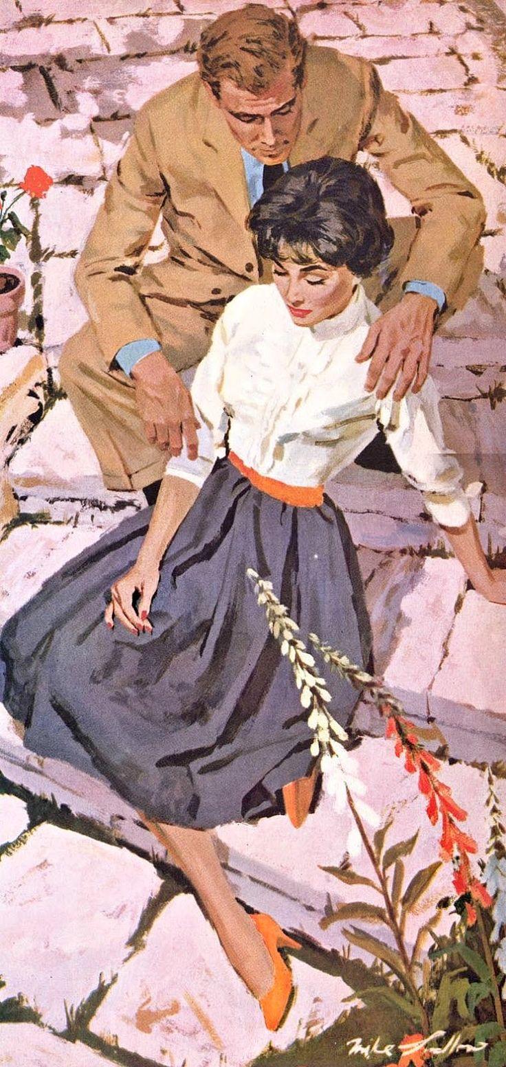 Mike Ludlow #vintageillustration #illustration