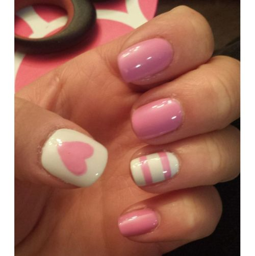 Valenties nails