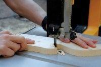 frezowanie otworu w drewnie