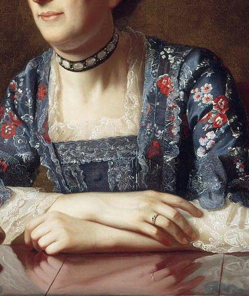 Mrs Isaac Winslow by John Singleton Copley, 1773