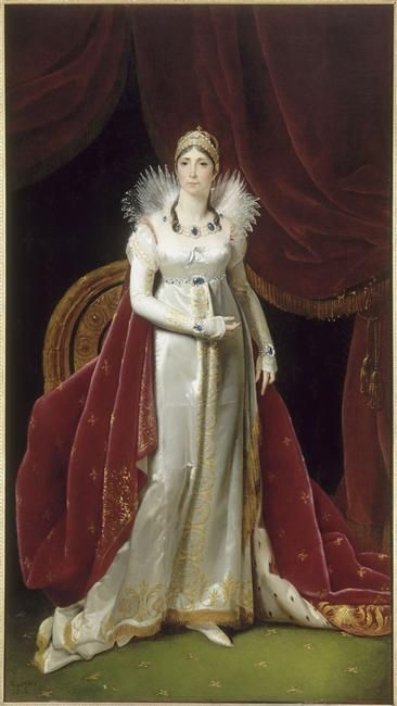 1806 Empress Joséphine by Henri-François Riesener (Châteaux de Malmaison et Bois-Préau, Malmaison France)