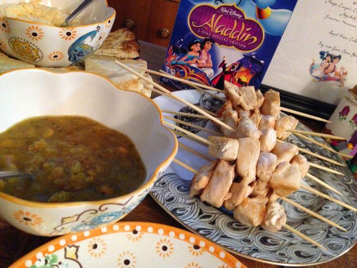 Aladdin Theme Dinner: Agrabah Kebabs