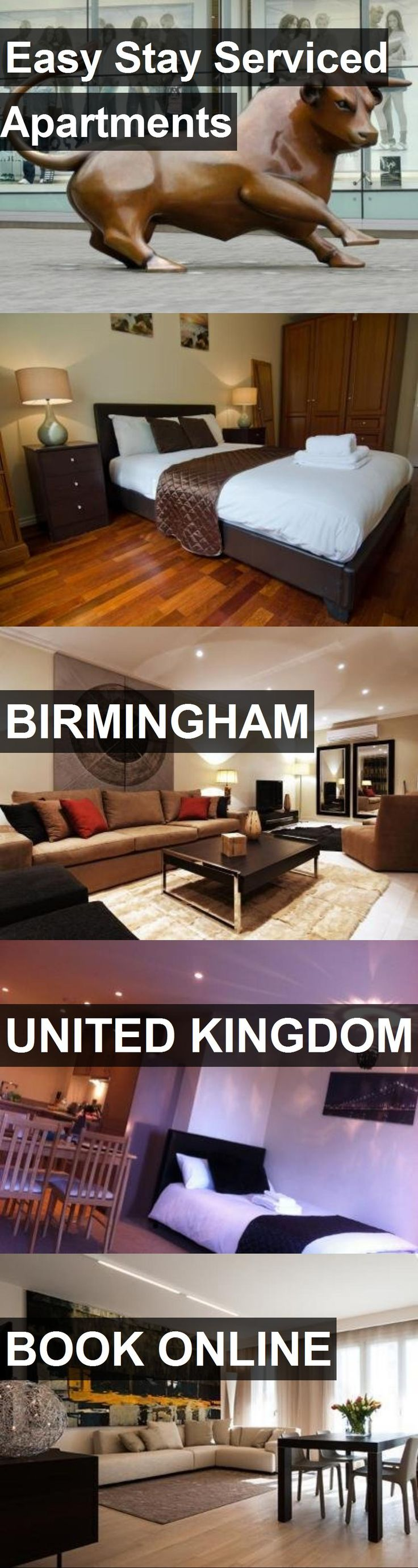 Easy Stay Serviced Apartments in Birmingham, United Kingdom. For more information, photos, reviews and best prices please follow the link. #UnitedKingdom #Birmingham #travel #vacation #apartment