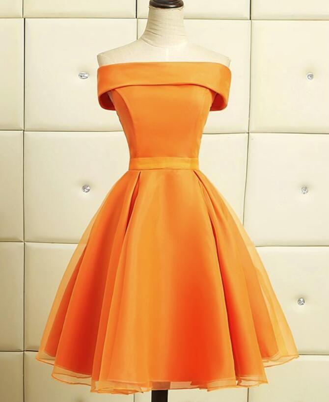 21+ Short orange dress ideas