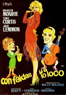 Con faldas y a lo loco - Cartel español