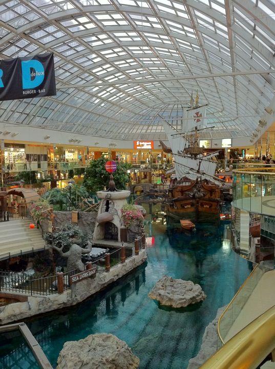 West Edmonton Mall in Edmonton, AB