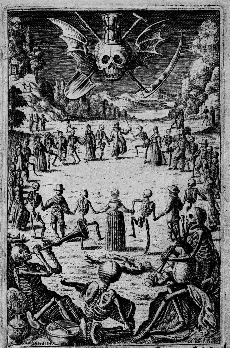 Frontispice pour Johan Vogel : Icones Mortis - 1648 - illustrations par Eberhart Kieser