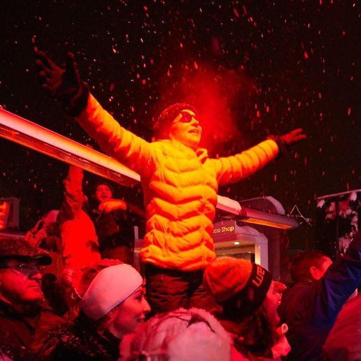 Sınırsız eğlenceyi kucaklıyoruz! Kar yağışına karşı eğlenmeye devam! #limitsoff #whitefest2016
