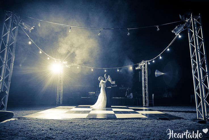 Wedding first dance outdoors-heartable.co.za