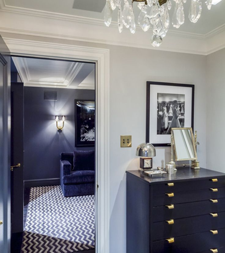 Traditional Storage Room and Closet in New York, NY by Vaughn Miller Studio