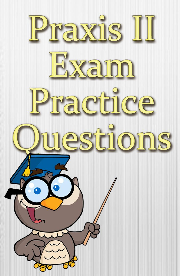 The Praxis II test series is a comprehensive and challenging battery of assessments for prospective educators that cover specific subject areas. If you're wanting to become a teacher and cover a specific subject area, you'll need to have a high score on the Praxis II exam. These free Praxis II exam practice questions will help you to get that high score that is needed on the Praxis II exam. #praxis #teaching