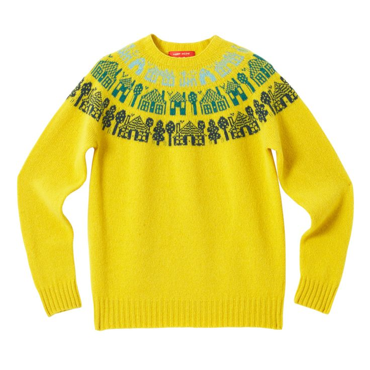 Small Town Sweater - Mustard - Donna Wilson