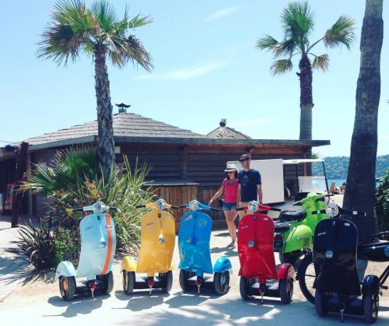 A small Spanish firm is launching the first self-balancing electric scooter.