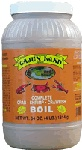 Cajun Land Complete Boil 4lb    The 64 oz Bag will season 7 gallons of water, enough for a whole sack of crawfish    Boiling time: shrimp 2-5 minutes, crawfish 5-7 minutes, crabs 10-12 minutes.