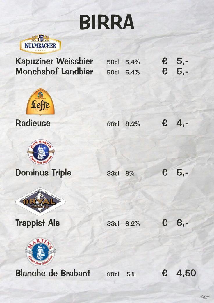 Novità!!! Le nostre nuove birre! 🍺🍻   #arrosticiamo #elapecoracammina #arrosticini #birra #menù #pse