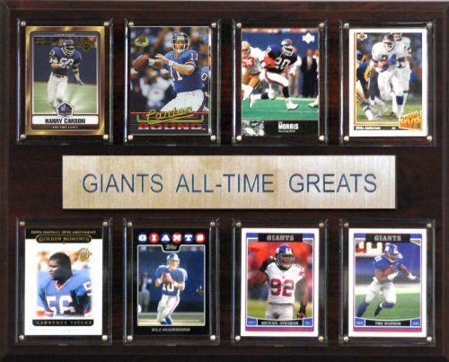 NFL New York Giants All-Time Greats Plaque by C&I Collectables. $25.00. NFL New York Giants All-Time Greats Plaque