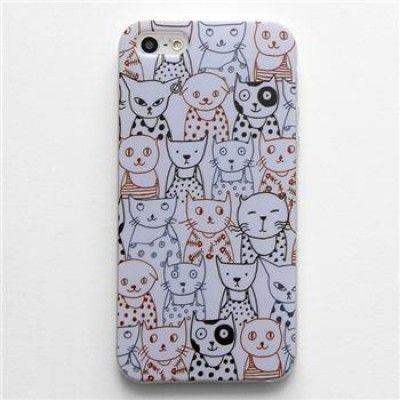 Hand Draw Design iphone 5/5s Case (Cats)