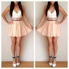 02861323d vestidos de gasa cortos adelante y largos atras