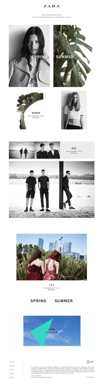 #newsletter Zara 02.2014 Spring Summer 2014