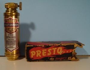 Presto mini-extinguisher