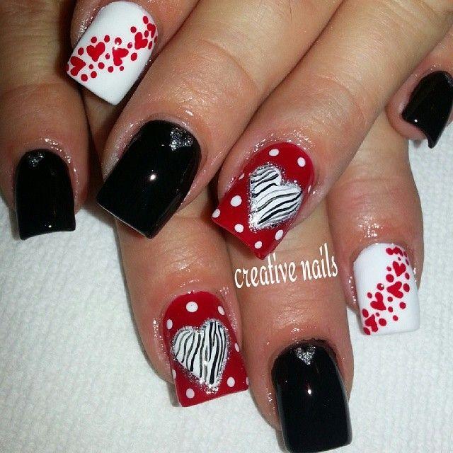 valentine by creativenails15 #nail #nails #nailart