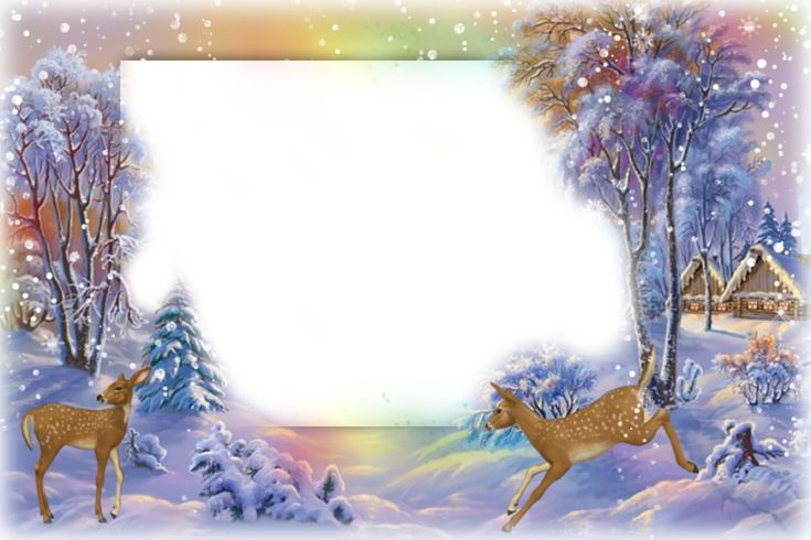 Winter-Photo-Frame-with-Deer.png (1280×853)