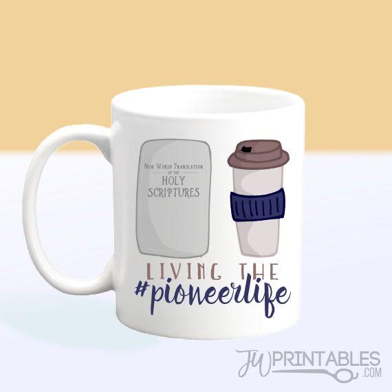 Pioneer Life – JW Mug
