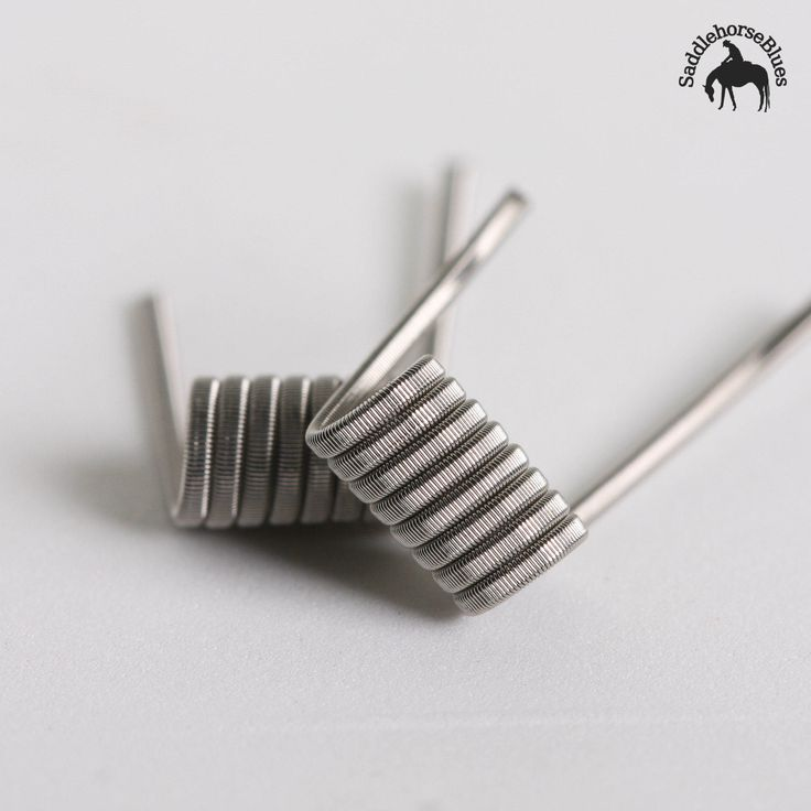 These budget-friendly coils are often the entry point for vapers. Available in Nichrome, Kanthal or a combination of the two with many different variations: lower or higher Ohms, smaller or larger diameter, these can be made to fit pretty near any device.