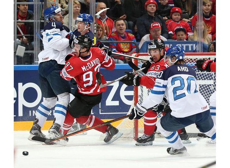 FIN vs CAN - 2016 IIHF Ice Hockey World Championship - International Ice Hockey Federation IIHF