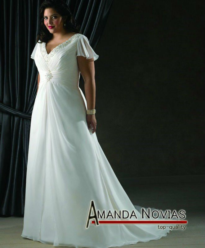 Casual Beach Wedding Dresses 2012 Plus Size PLUS 037 On AliExpress 16900