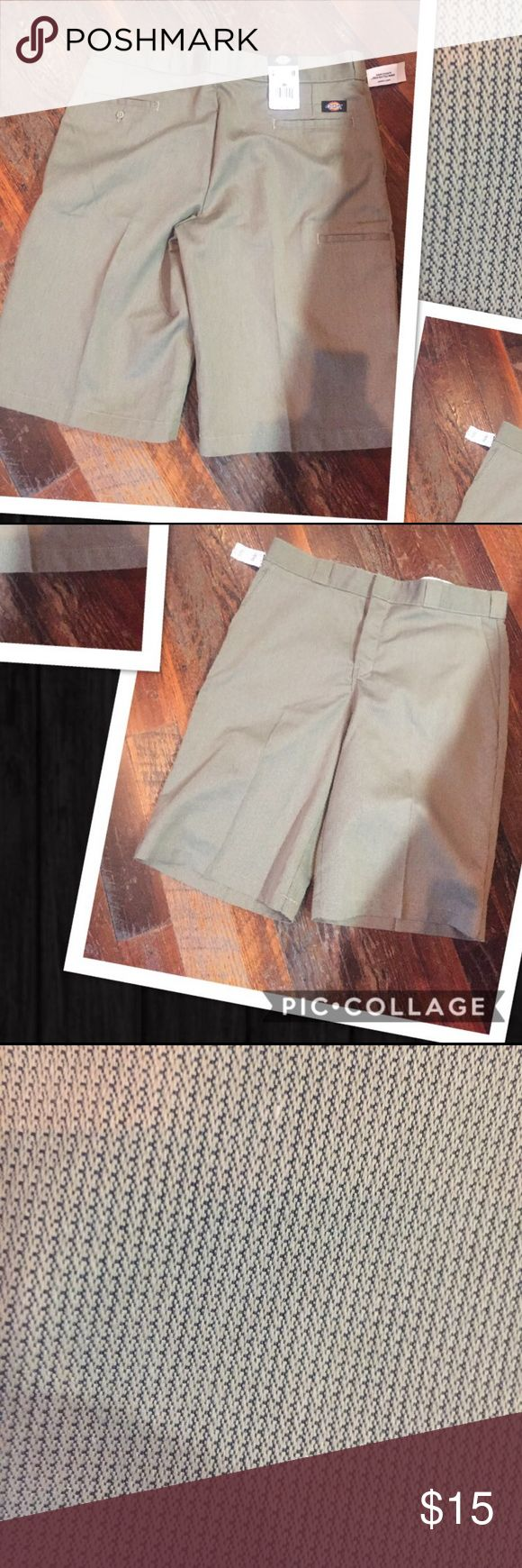 Nwt from Tillys Dickies shorts size 36 Nwt from Tillys Dickies shorts size 36  . No trades price firm Dickies Shorts Flat Front