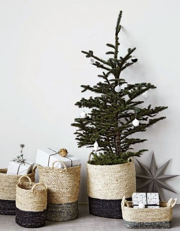 北欧インテリア似合うクリスマスツリー