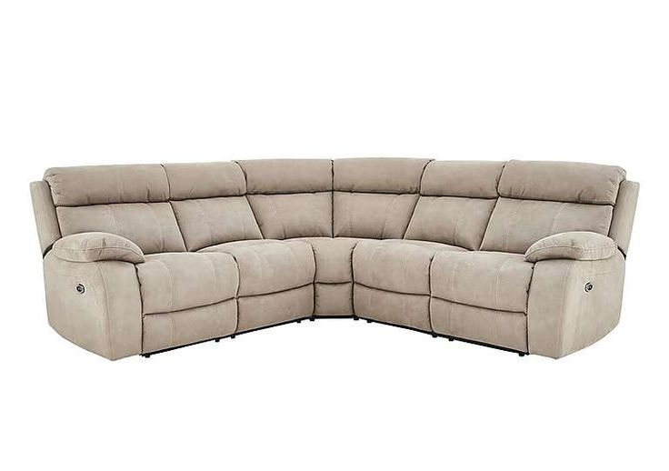the falkon recliner corner sofa is an impressive and stylish suite with 2 reclining seats and its l shape it is perfect for relaxing and