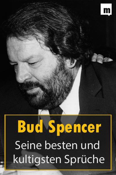 Die besten Sprüche von Bud Spencer, die nie in Vergessenheit