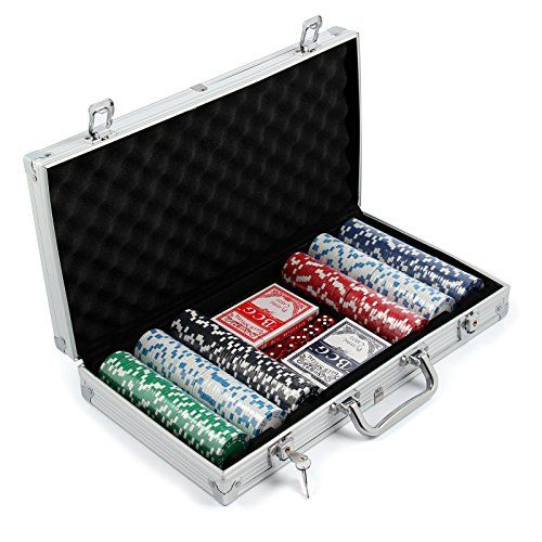 AllRight 300 Pcs Poker Chips Set Game Poker Casino Poker Set In Aluminium Case <b>Features of 300 Texas Holdem Poker Set:</b>  • Comprises 300 chips weighing 11.5 grams each.  • 11.5 gram poker chips.  • 30 (Barcode EAN = 0714367558523) http://www.comparestoreprices.co.uk/december-2016-3/allright-300-pcs-poker-chips-set-game-poker-casino-poker-set-in-aluminium-case.asp
