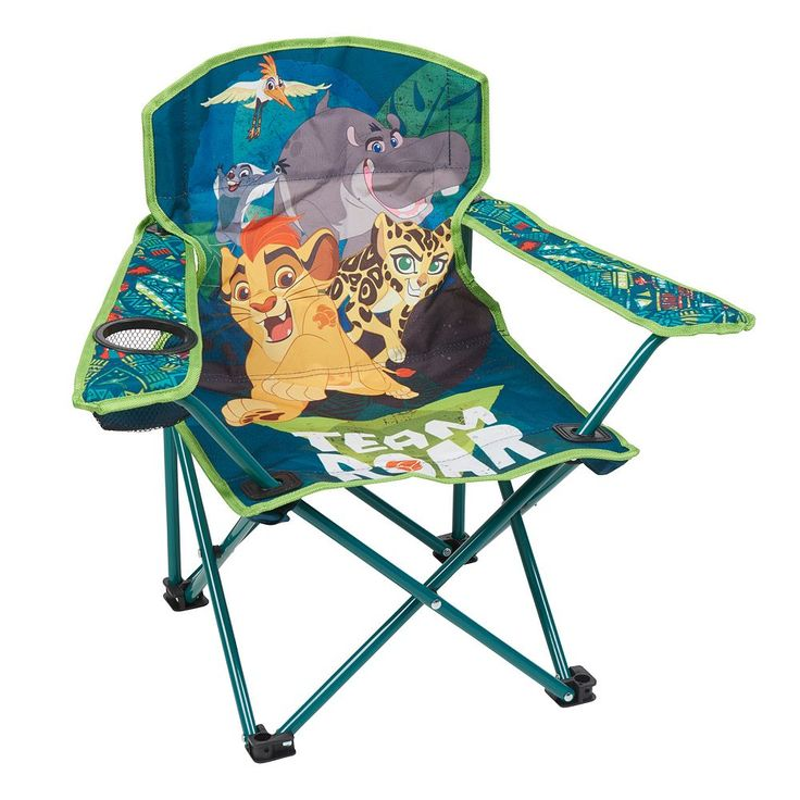 Outdoor Disney's The Lion Guard Kids Folding Chair, Multicolor