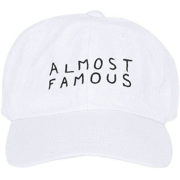 Nasaseasons Women Almost Famous Embroidered Baseball Hat ($61) ❤ liked on Polyvore featuring accessories, hats, white, white baseball cap, embroidered hats, white ball cap, embroidery hats and embroidered baseball caps