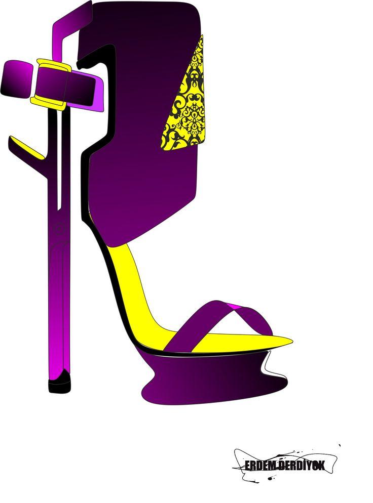 birazcık ılhamlar alındı tabıkı :)) #shoe #fashion #design #art