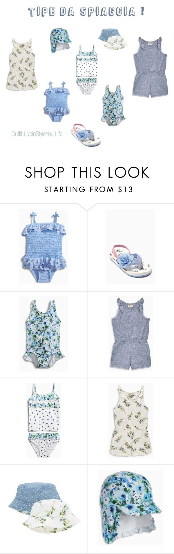 """Tipe da Spiaggia!"" by liveinstyleyourlife ❤ liked on Polyvore featuring Dettagli and Cappelli"