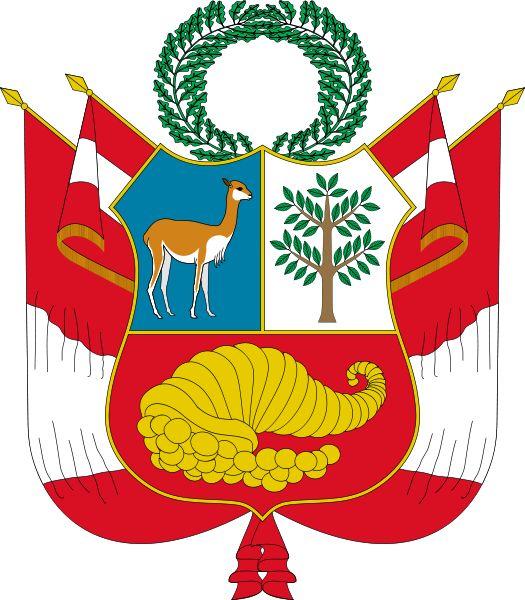 Escudo nacional del Perú//https://en.wikipedia.org/wiki/Spanish_conquest_of_the_Inca_Empire