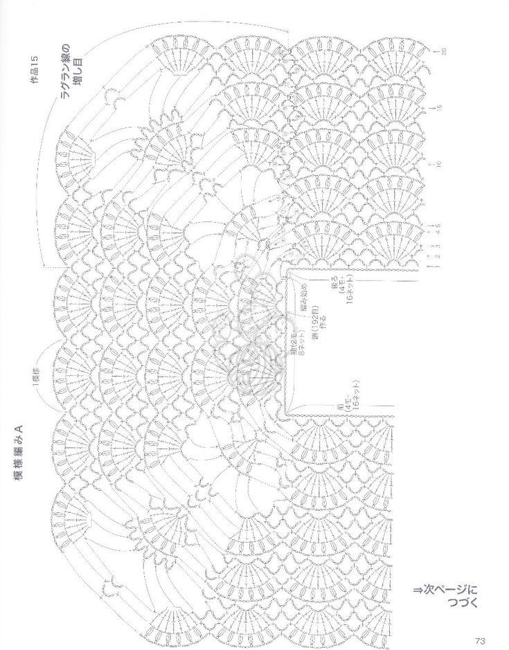 ネックから編む優しいニット NV70185 2013 - 沫羽 - 沫羽编织后花园