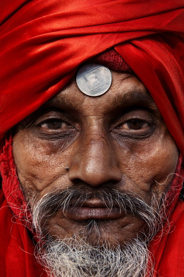 Holy Man in Varanasi, India