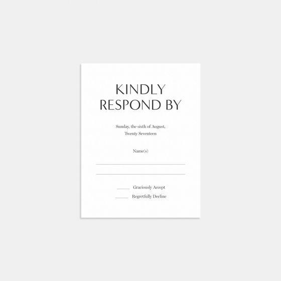 Modern Reply Card | Artifact Uprising